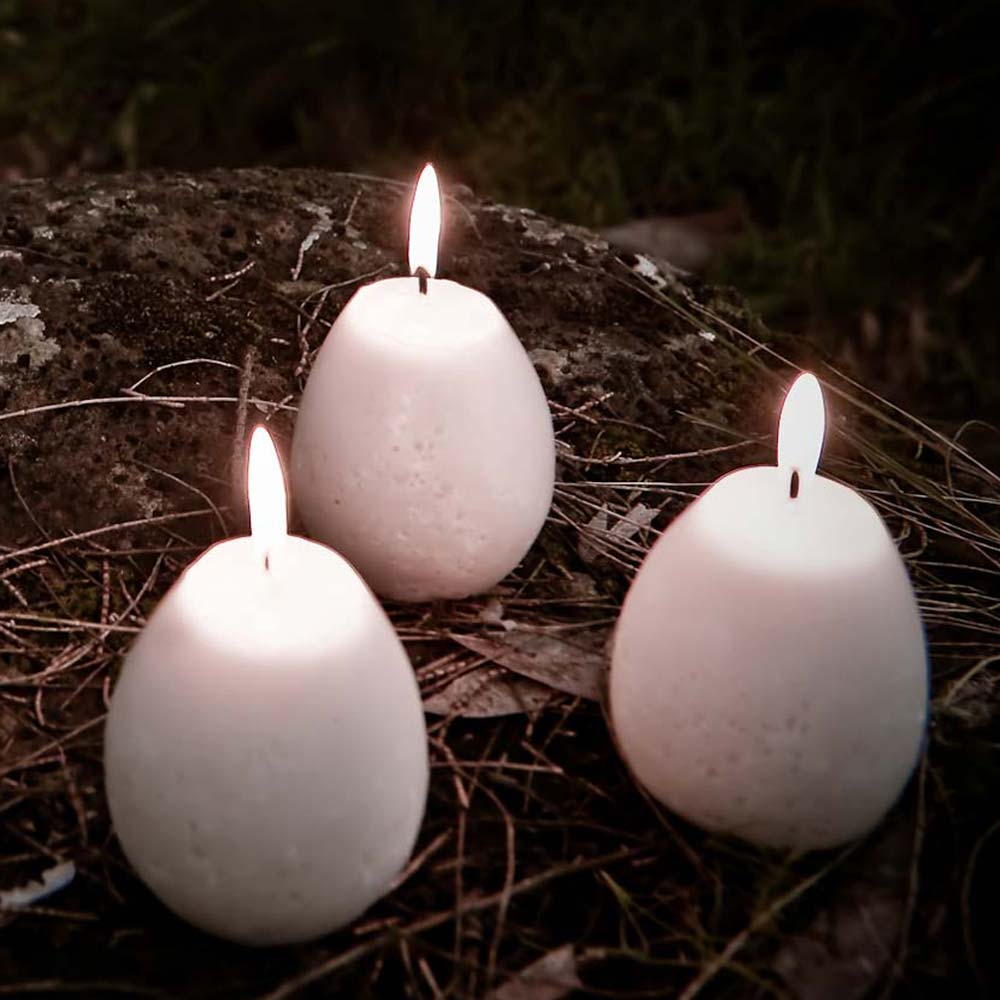 Mini Egg Candles