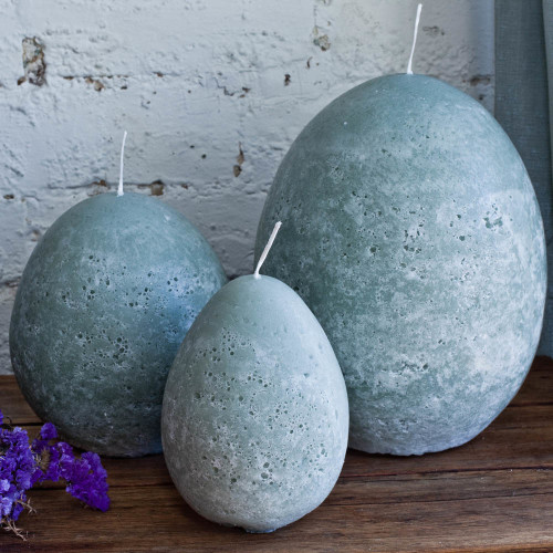 Set of 3 Sizes - Egg Candles
