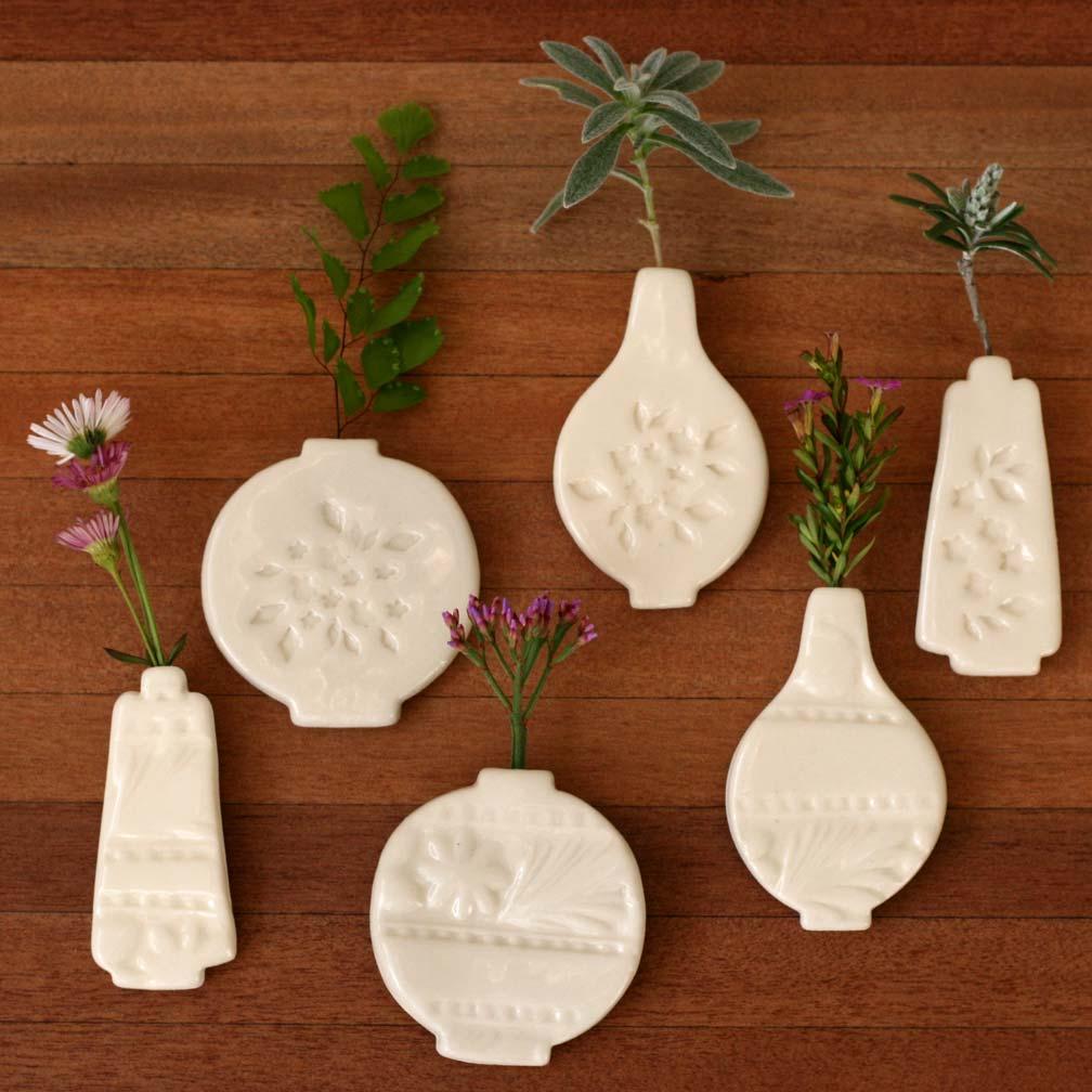 Ceramic Vase Magnets