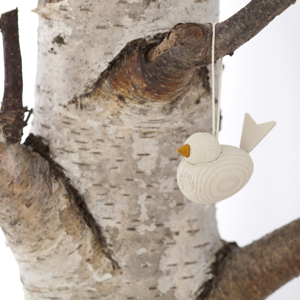 Scandinavian Wooden Birds